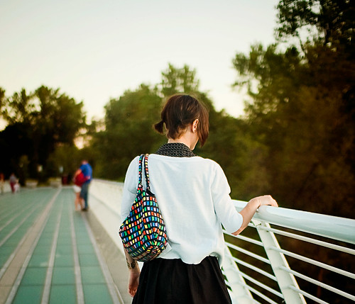 california sunset bokeh quote pigtails redding 2009 sundialbridge fromthearchives peoplefrombehind jillianpoitras