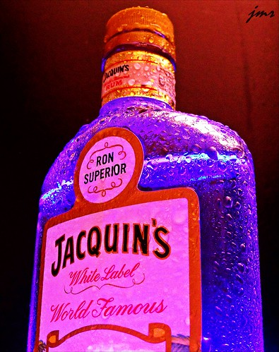 JACQUIN'S RUM DOES THE TRICK