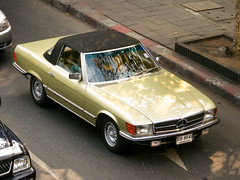 Mercedes-Benz SL in Bangkok