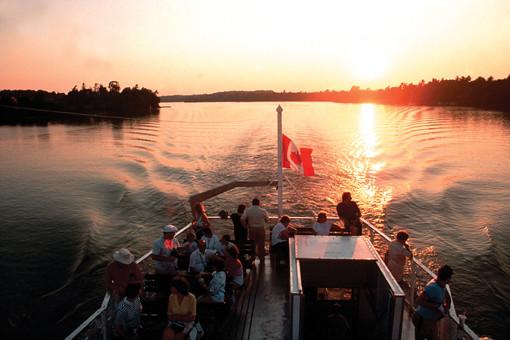 Croisière dans les Mille Îles (Ontario, Canada)
