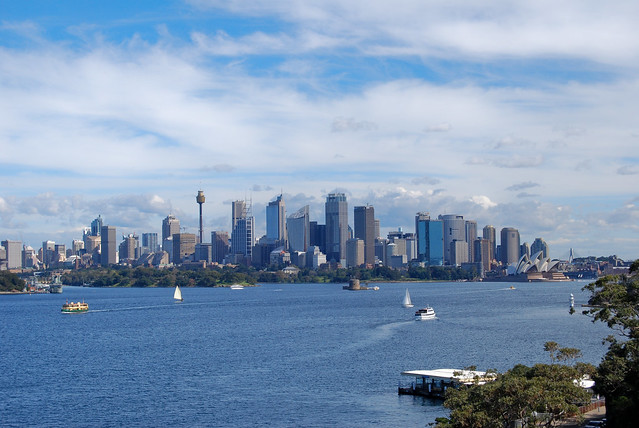 Sydney view from Taronga Zoo