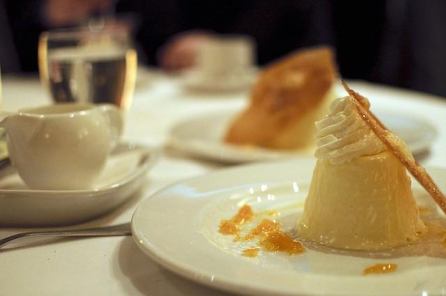 Aix grand marnier iced mousse with orange tuile went for Aix cuisine de terroir