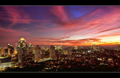 sunset jakarta sudirmanpark