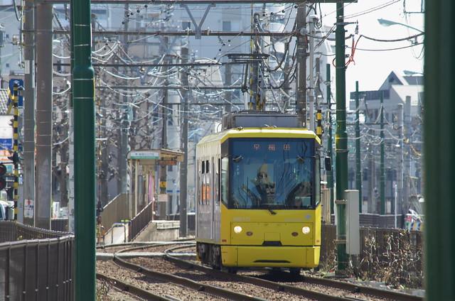 Tokyo Train Story 都電荒川線 2014年3月8日