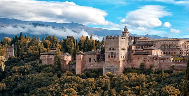 El Reino nazarí de Granada.