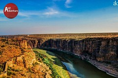 Gandikota Valley, Andhra Pradesh, India.. #River #BeautifulValley #Fort #Nature #Mountains #Amazing #Serenic #wow #Stunned #Gandikota #AndhraPradesh #Telangana #Travel #Trips #Traveller #Travellographer #TravelDiaries #Travelgoals #RoadTrips #Wanderer #Wa