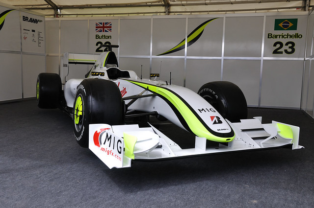 Jenson Button's Brawn F1 Car | Flickr - Photo Sharing!