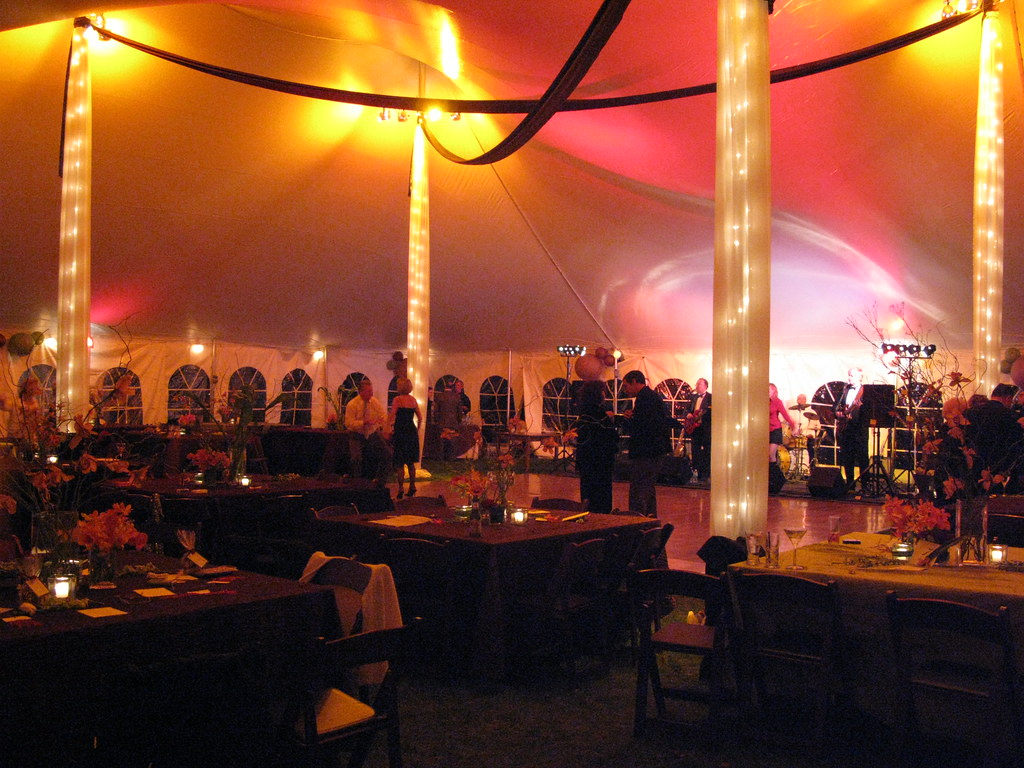 Event draping and Lighting