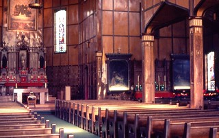 Martyrs Shrine, Midland. Interior.