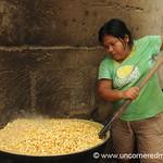 Cooking the Corn - Masaya, Nicaragua