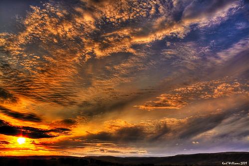 sunset landscape scotland bravo williams karl hdr lenzie kirkintilloch campsiefells explored karlwilliams