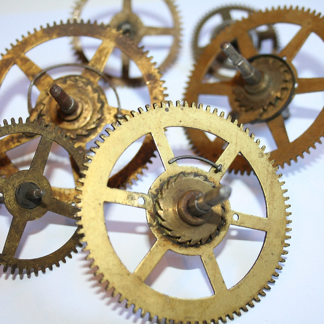 Old Clock Gears : Extra large antique clock gears a photo on flickriver