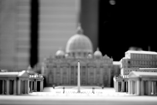 St. Peter's Square Miniature