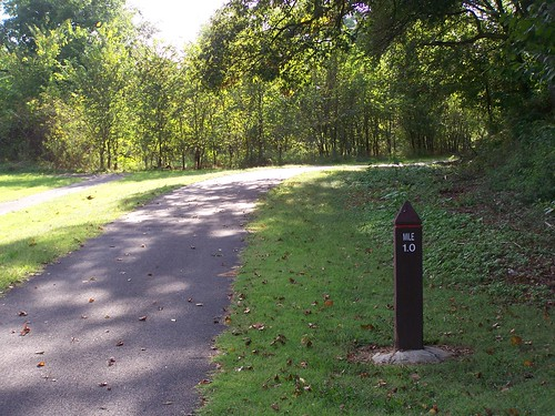 Trail marker, Northwest Branch Trail, Prince George's County (Hyattsville/Mount Rainier)