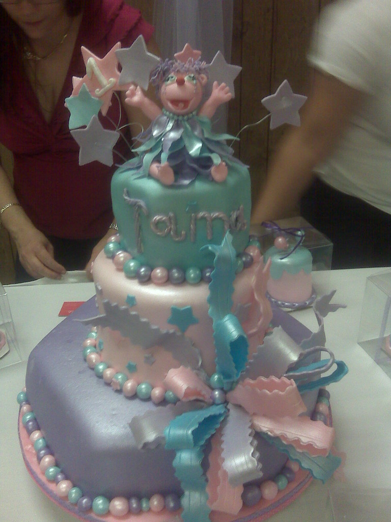 Abby Cadabby 1st Bday Cake By Sue For The Most Wonderful