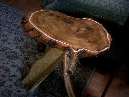 osage orange table