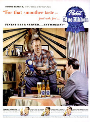 LIFE 1950-08-28 Pabst Blue Ribbon Ad