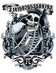 Pi Pizza Skeleton