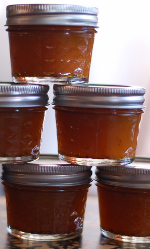 Spiced Cider and Husk Cherry Jelly