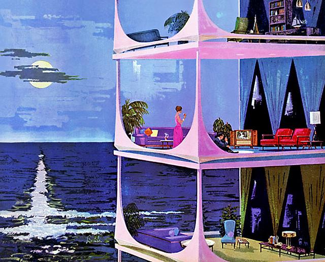 1961--Motorola-pink