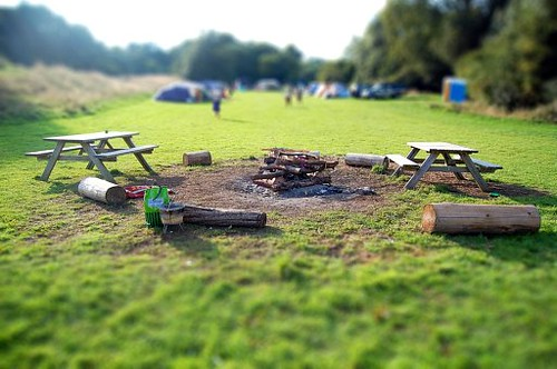 CAMP FIRE, tilt shift