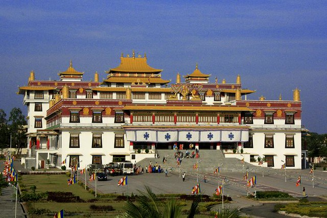 Loseling Prayer Hall Drepung India Flickr Photo Sharing