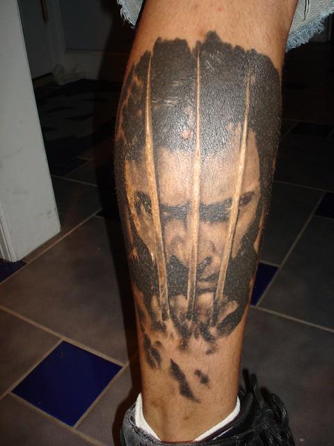 Yuk's great Wolverine tattoo