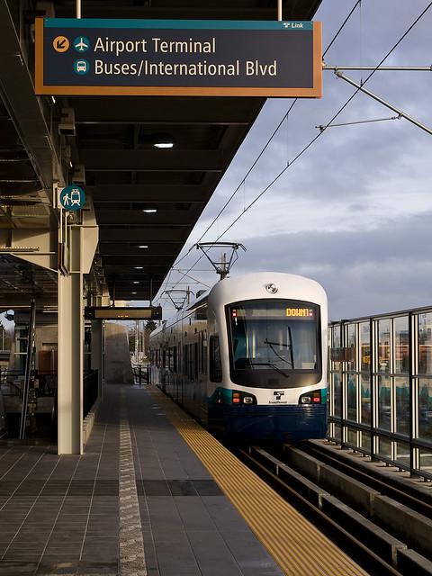 SeaTac Airport Light Rail LInk Flickr Photo Sharing