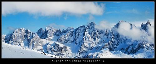 winter italy snow mountains alps nature montagne landscape geotagged italia natura neve inverno alpi paesaggio sci dolomiti lusia moena d40 nikond40 rapis60 andrearapisarda geo:lat=46363937 geo:lon=11700268