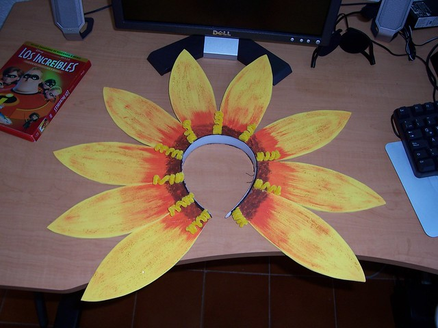 Una diadema de girasol | Flickr - Photo Sharing!