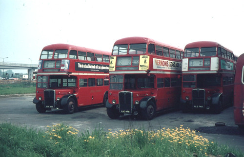 London Transport RT's at Stonebridge Park