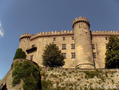 Odelcaschi Castle in Lago Bracciano (Bracciano Lake), Italy