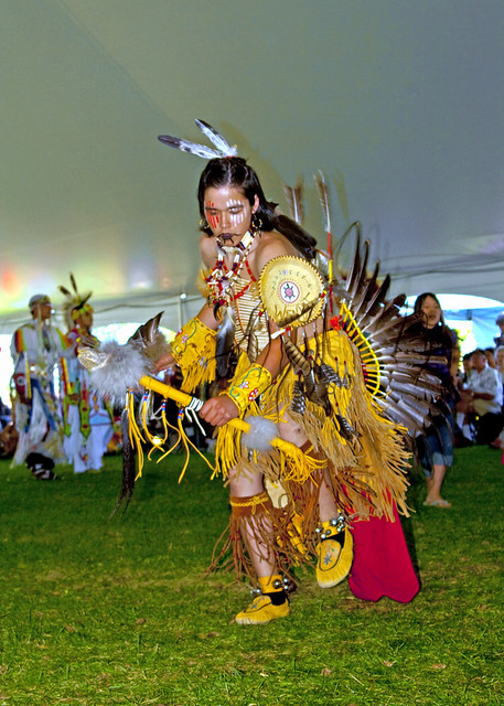 first nations dancer