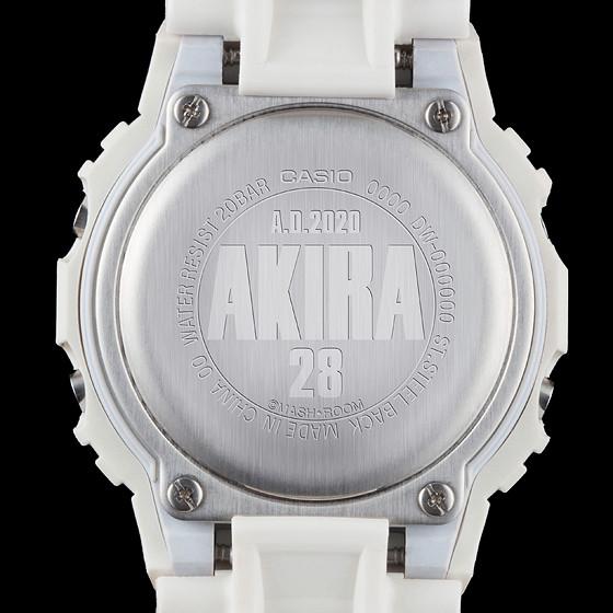 經典名錶再度復活!大友克洋協力監修 AKIRA × G-SHOCK NEO TOKYO