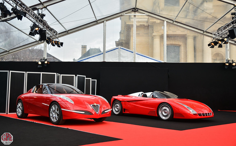 Alfa Romeo Vola Concept - Fioravanti F100R
