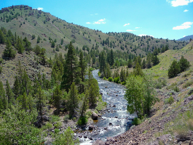 Chewaucan River Near Paisley Oregon Flickr Photo Sharing