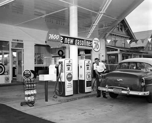 76 Gas Station 1950 S Flickr Photo Sharing