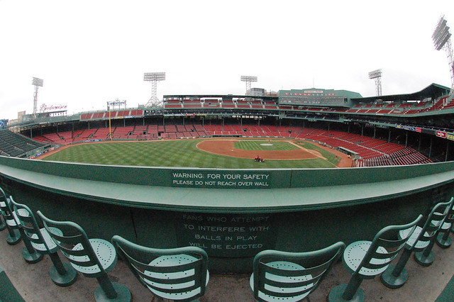 View From The Green Monster Seats Flickr Photo Sharing