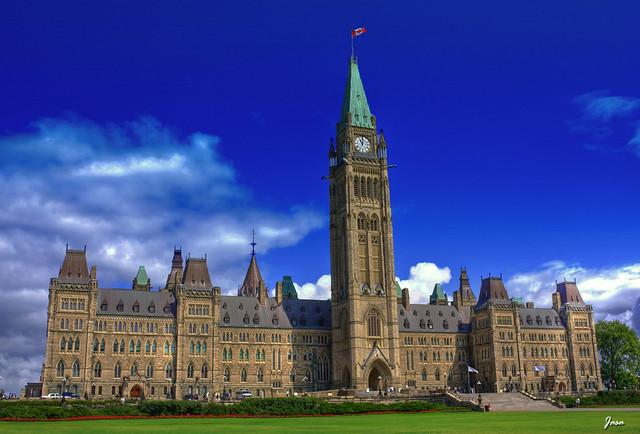 Canadian Parliament Center Block Flickr Photo Sharing