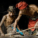 Badung, Bali - Father and son blacksmiths by Mio Cade
