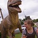 Kate vs the Velociraptor by Kid Continuity