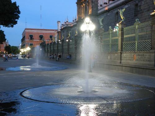 P8100040 Zocalo de la Ciudad de Puebla., Puebla . Mexico por LAE Manuel Vela