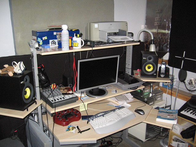 My home studio - in progress
