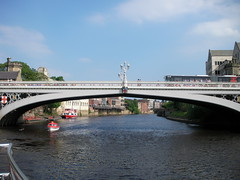 Lendel Bridge, River Ouse, York