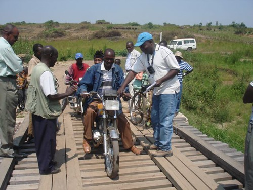 UNHCR News Story: Building bridges in Congo – physically and symbolically