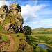 There be Faeries at the Fairy Glen on the Isle of Skye by Dysartian