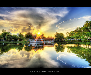 Sunset @ Chinese Garden, Singapore :: HDR