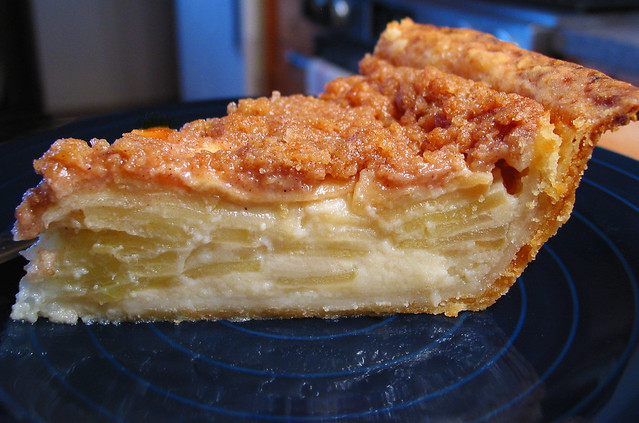 ... crème fraîche single-crusted apple pie | Flickr - Photo Sharing