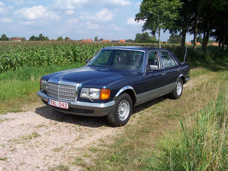 mercedes 500 se w126 1980 a photo on flickriver. Black Bedroom Furniture Sets. Home Design Ideas