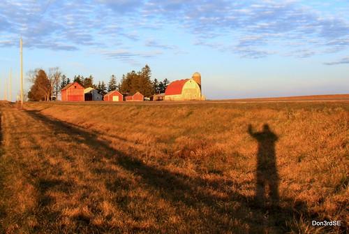 november autumn color fall wisconsin barn rural sunrise canon landscape eos farm wi 50d abigfave canon50d don3rdse